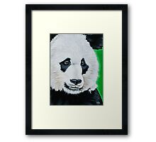 Happy Panda Framed Print