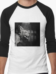 Dogs with game face on .27 Men's Baseball ¾ T-Shirt