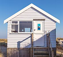Sail away with me beach hut by Zoe Power