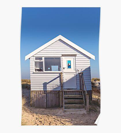 Sail away with me beach hut Poster