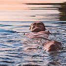 Eveningswim by Johannes Wessmark