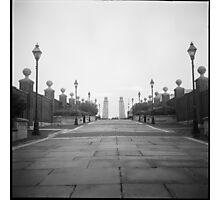Crossing Walnut Street Bridge Photographic Print