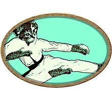 Karate Kat Photographic Print