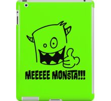 I'm a funny Monster iPad Case/Skin