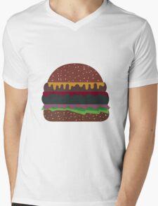 Hamburger  Mens V-Neck T-Shirt