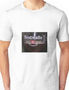 Westmalle Trappist Beer in Glass Unisex T-Shirt