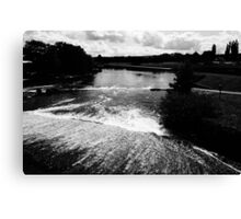 Rushing Waters, Deep Run Canvas Print
