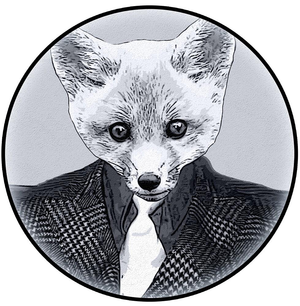 Business Fox by Rob Hopper