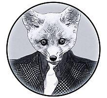 Business Fox Photographic Print