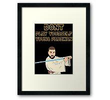 DJ Khaled - Jedi Khaled - Star Wars Framed Print