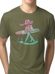 Gnarly Seashorse Tri-blend T-Shirt