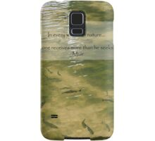 Every Walk With Nature Samsung Galaxy Case/Skin
