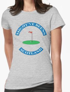 Old Golfers SCOTLAND Womens Fitted T-Shirt