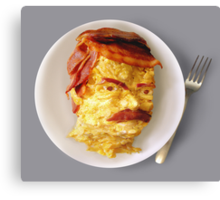 All the Bacon and Eggs Canvas Print