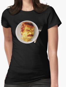All the Bacon and Eggs Womens Fitted T-Shirt