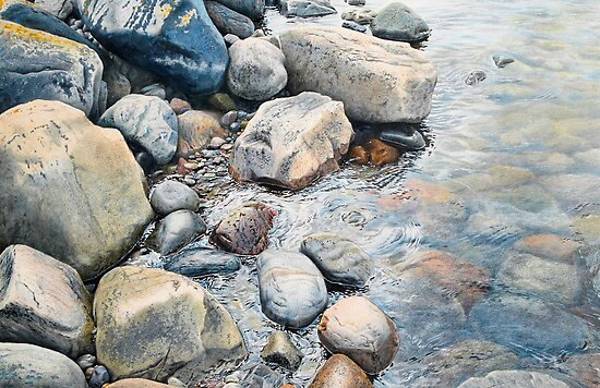 Fjallbacka stones by Johannes Wessmark