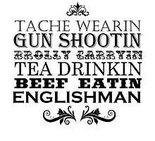 Perfect Englishman tshirt by INFIDEL