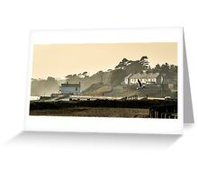 Lepe Beach,Hampshire Greeting Card