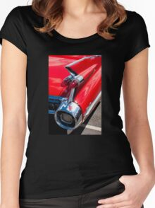 Cadillac tshirt Women's Fitted Scoop T-Shirt