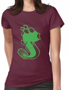 Female Cute Fish Womens Fitted T-Shirt