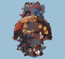 Wreck it Ralph and Mario mash-up T-Shirt