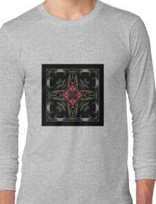 Night in the Garden - Shawl Long Sleeve T-Shirt