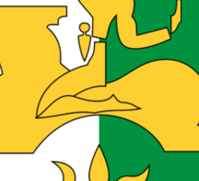 Abkhazia Coat of Arms  Sticker