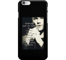 Special Supernatural request - Padaholic ! iPhone Case/Skin