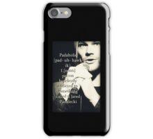 Special Supernatural request - Padaholic ! iPhone Case/Skin