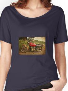 Battered Zephyr Women's Relaxed Fit T-Shirt