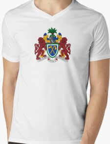 Gambia Coat of Arms  Mens V-Neck T-Shirt