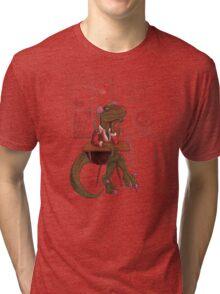 Clever Gurl Tri-blend T-Shirt