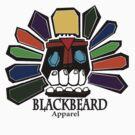 Colorful Skull by BlackBeard Apparel / Custom Designs