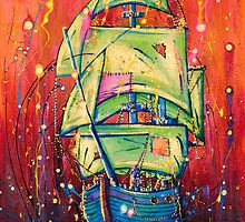 The Universal Pirate Ship #39 by Nick Gibson