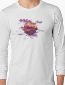 Bloodborne - New Moon Rises no text Long Sleeve T-Shirt