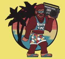 Bigfoot on Vacation T-Shirt