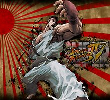 SSF4 - Ryu Sunburst by Stevie B