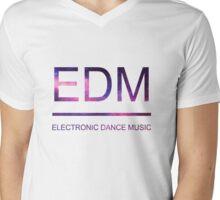 EDM galaxy  Mens V-Neck T-Shirt