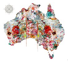 Australia map  by bri-b