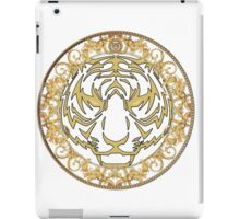 Gold tiger print iPad Case/Skin