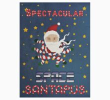 Spectacular space Santapus Kids Tee