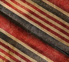 red white and blue stripes by Tia Knight