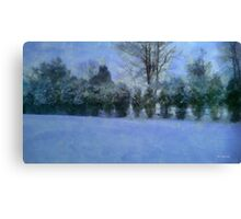 Blue Dawn Canvas Print