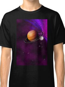 An unknown planet in space. Classic T-Shirt