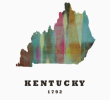 kentucky state map Kids Clothes