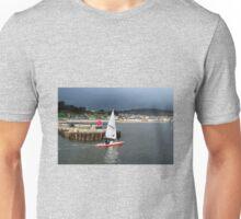 Winter Sailing - Lyme Regis Unisex T-Shirt