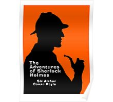 The Adventures of Sherlock Holmes Book Cover Poster