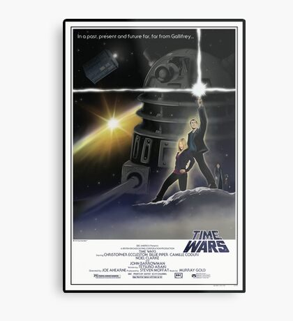 Doctor Who - A New Who Metal Print