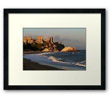 Mamure Castle in Anamur Framed Print