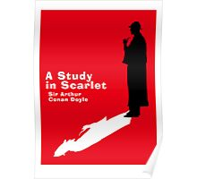 A Study in Scarlet Book Cover Poster